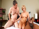 Kelly Surfer Makes Her Cuck Hubby Eat Cum From Her Cunt